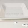 """จานแบ่งอาหารสี่เหลี่ยม 6.5"""" 017-SB-P666-6.5"""