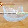 ถ้วยแก้วเหลี่ยม รหัส : 005-J770 Glass cup Square shape Code : 005-J770
