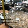 ถาดเมลามีนลายไม้ไผ่บวกฝาครอบ เซ็ทโชว์อาหาร ขนาดกลาง Code:005-setme14