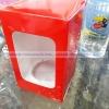 กล่องบรรจุแก้วน้ำ 10 oz. 005-K1210 (เฉพาะกล่อง),กล่องกระดาษของขวัญ,กล่องใส่แก้วน้ำโชว์ลายของขวัญ,กล่องสำหรับสินค้าพรี่เมี่ยม