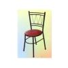 เก้าอี้คาเฟ่ขาดำ (กลม) 015-FMO180