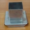 แท่นหล่อเทียนสเตนเลส รูปสี่เหลี่ยมจัตุรัส รหัสสินค้า 016-C-04 Candle mold stainless quadrate. 016-C-04
