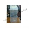 ถังขยะใส 50 ลิตรฝาแกว่ง 001-KS648-CL