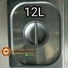 ฝาอ่างอาหารสแตนเลส 1/2 Gastronorm Pan Cover 040-GN-12L