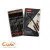 ชุดดินสอสเก็ตDerwent Graphic Medium 12แท่ง, 6B-4H (Derwent Graphic Medium Pencils Set of 12, 6B-4H)