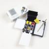 ชุดสีน้ำก้อนWinsor Professional Field Box half 12สีพร้อมอุปกรณ์ (Winsor & Newton Professional Watercolour Field Box)