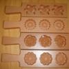 พิมพ์เคาะน้ำตาล 3ช่องเล็ก Core namtan small.016-PK-3