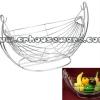 ตะกร้าชิงช้าใส่ผลไม้สแตนเลส Chingcha basket put fruit stainless steel. 075-ST-901