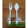 ช้อน-ส้อมเด็กหัดทาน ช้อนส้อมฝึกเด็กทานอาหาร ช้อน-ส้อมเมลามีนเด็ก Code : 017-SP-F359-6.5