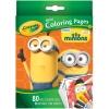 Crayola Mini Coloring Pages with Markers - Minions การ์ดระบายสี ลายมินเนี่ยน 80 แผ่น พร้อมสีเมจิกล้างออกได้ 6 สี