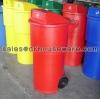ถังขยะมีล้อเนื้อโพลีเอทธิลีน 001-TC150RD Trash polyethylene wheeled. 150 liter. 001-TC150RD