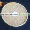 ถาดกลม 9 นิ้ว ลายไม้สาน รหัส : NK13811-9 Melamine tray round shape weave design 9 inches Code : NK13811-9