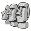 Stone Man Moai