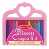 Melissa & Doug Princess Crayon Set 12 สี