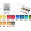 ชุดสีน้ำก้อนWinsor Professional Black Box half 12สี (Winsor & Newton Professional Watercolor Black Box Set of 12)