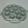 พิมพ์ขนมไข่อะลูมิเนียมขนาด 7 นิ้ว แบบลายที่ 6 (ดอกมะยม 12 ดอก) 016-KK-AL67