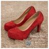 รหัส รองเท้าไปงาน : RR003 รองเท้าเจ้าสาวสีแดง พร้อมส่ง ตกแต่งกริตเตอร์ สวยสง่าดูดีแบบเจ้าหญิง ใส่เป็นรองเท้าคู่กับชุดเจ้าสาว ชุดแต่งงาน ชุดงานหมั้น หรือ ใส่เป็นรองเท้าออกงาน กลางวัน กลางคืน สวยสง่าดูดีมากคะ ราคาถูกกว่าห้างเยอะ
