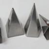 แท่นหล่อเทียน ไซส์สูง-เทียนแฟนซี รูปพีรามิดหกเหลี่ยม สูง 6 นิ้ว 016-CV3 Candle Mold Pyramid Size high - fancy.016-CV3