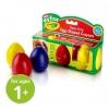 Crayola My First Egg-Shaped Crayons สีเทียนรูปไข่ 3สี ปลอดสารพิษ เหมาะสำหรับเด็ก 1ปีขึ้นไป