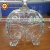 ชามคริสตัล+ฝา 6 นิ้ว Crystal bowl with lid 6 inches Code : 005-J991