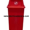 ถังขยะเนื้อโพลีเอทธิลีน 50 ลิตร 001-TC50NS Trash poly ethylene. 50 liter. 001-TC50NS