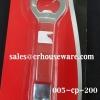 ที่เปิดขวดอย่างดี ด้ามแดง ซุปเปอร์แวร์ เปิดกระป๋อง 005-cp200 Well bottle opener, red handle, super wear openner.