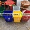 ถังขยะแยกสี,ถังขยะเล็กแยกอ๊อฟฟิศสำนักงาน 12 ลิตร 001-KS1046