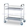 รถเข็นอาหาร(กันขอบ+กันขวด) 002-SBC-A10110,catering serving Carts,Portable Kitchen Cart,xe dịch vụ ăn uống,餐飲服務車,រទេះសេវាកម្មម្ហូបអាហារ,kereta sorong perkhidmatan Catering