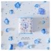 Blue Tin Money Box กระปุกออมสินสีฟ้า งานสังกะสี