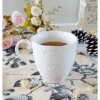 White Ceramic Mug แก้วเซรามิค สีขาว
