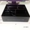 กล่องเบนโตะเมลามีน สีดำ(ไม่มีฝา) 5 ช่อง 017-N099-9