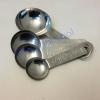 ช้อนตวงของแห้ง อลูมิเนียม 037-MSSL Measuring spoon aluminium. 037-MSSL
