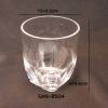 แก้วน้ำพลาสติกริมสระน้ำ Plastic Mug poolside. SAN-8504