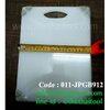 เขียงพลาสติกสีขาวมีกันลื้น Non-skid Cuttng boards Code : 011-JPCGB912