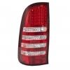 เสื้อไฟท้าย HILUX VIGO แบบแต่ง สีแดง