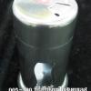 ขวดใส่ไม้จิ้มฟันหรือใส่พริกไทยขวดแก้วครอบด้วยสเตนเลส 005-380