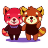 Nong Red Pandas - Fun Set - Thai