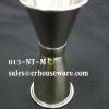ถ้วยตวงเหล้าสเตนเลส นำเข้าจีน ไซส์กลาง รหัส : 013-NT-M Stainless jigger import from China medium size. Code : 013-NT-M