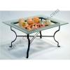 ชั้นโชว์อาหาร ผลไม้ พร้อมจานแก้ว L The show food and Fruit + dish glass. L 005-HR019-18L