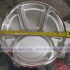 ถาดหลุมสแตนเลส ม้ายลาย 35 ซม. ( 14 นิ้ว ) SL-132039