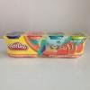Play Doh แป้งโดว์เซต 4 กระปุก 4 สี (น้ำเงิน ส้ม เขียว เขียวอ่อน) สำหรับน้องอายุ 2 ขวบขึ้นไป