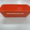 ถ้วยทรงสี่เหลี่ยม 2.5*5 นิ้ว สีส้ม 017-D989-5