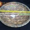 ถาดกลมเมลามีน 14 นิ้ว ลายไม้สาน รหัส : NK13809-14 Melamine tray round shape waeve design 14 inches. Code : NK13809-14