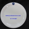 Porceline จานกลมทรงตื้น 10.5 นิ้ว 017-PP-8007