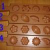 พิมพ์เคาะน้ำตาล 4 ช่อง 016-PK-4 Core namtan mold 4 hole. 016-PK-4