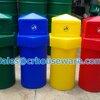 ถังขยะเนื้่อโพลีเอทธิลีนความจุ 160 ลิตร-หัวเพชร 001-TC160 Diamond bins poly ethylene .160 liter. 001-TC160