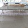 โต๊ะสเตนเลสสี่เหลี่ยม รหัส 002-UCN-1022,โต๊ะปฎิบัติการสเตนเลสส่งมหาวิทยาลัย 80*150 ซม