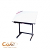 โต๊ะเขียนแบบ Mastex รุ่น 303-M (กว้าง60 x ยาว100 x สูง87ซม.) ***ราคาเฉพาะโต๊ะ ไม่รวมไม้ทีสไลด์