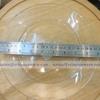 "Shallow Plate 9"" 013-P00303 จานแก้ว"