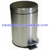 ถังขยะสแตนเลส 001-JVD-5SH Round Stainless Steel Trash Can. 5 Liter. 001-JVD-5SH